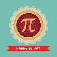 Announcements Wednesday, March 14, 2018  Happy Pi Day!